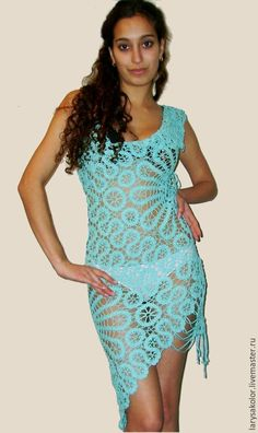 Bruges Lace, Irish Crochet, Crochet Lace, Beach Crochet, Crochet Fashion, Crochet Clothes, Cover Up, Boho, Knitting