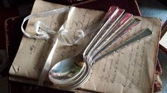 5 Vintage Kenilworth Silver Plated Spoons Smith Seymour