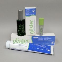 Amway Glister Fluoride Toothpaste Oral Rinse Refresher Spray - 1 Starter kit #Glister