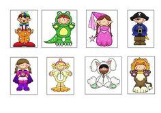 Activitat de lectura i comprensió on els alumnes han de descobrir la disfressa a través d'unes pistes escrites.