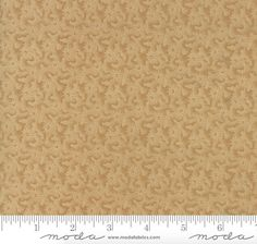"""14 Yards in Stock - Moda Fabrics - 108"""" Wide Fresh Cut Flowers Tan Quilt Back / Backing Fabric by Kansas Troubles - 11140-11 - 100% Cotton"""