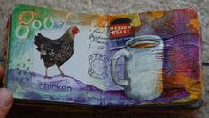Altered Board Book: morning by 2littlewings, via Flickr
