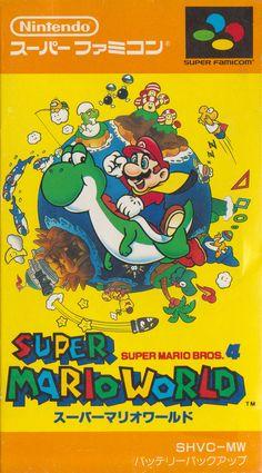 Super Mario World - Super Famicom (front sleeve)