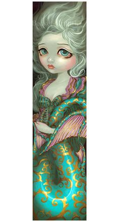Mermaid in Rococo french fairy Jasmine Becket-Griffith