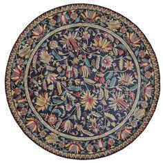 Grand Bazaar Tufted 100-percent Pile Natasha Rug in / Round (Natasha, /, Round)