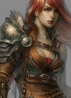 half plate warrior by len-yan on DeviantArt (detail)