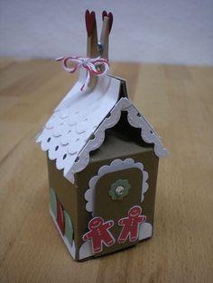 stampin up milk carton gingerbread man