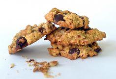 Oatmeal Chocolate Chip Almond Cookies