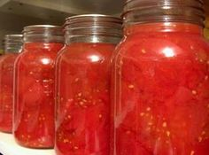 OVEN CANNED TOMATOES