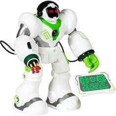 Intelligent Remote Control RC Robot Talking Walking Shooting Light