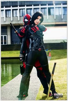 Domino and Deadpool ~ Deadly Sins