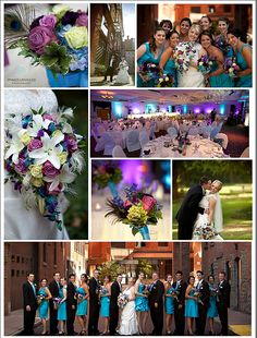 Peacock Wedding Color Theme! https://www.facebook.com/imagesunveiled