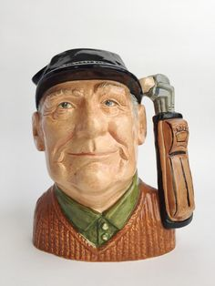 Vintage 1970's Royal Doulton Golfer Character by VintageCharacter