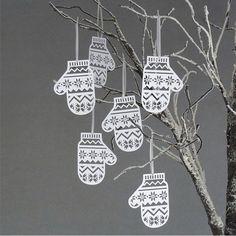 Schöne Dekoidee für Weihnachten zum Selbermachen, Noch mehr Ideen gibt es auf www.Spaaz.de