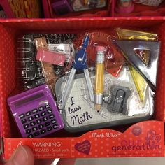 doll accessories We have a few of these accessories already, so I passed on this one. American Girl Doll Room, American Girl Diy, American Girl Clothes, Our Generation Doll Accessories, My Life Doll Accessories, Ag Dolls, Girl Dolls, Poupées Our Generation, Baby Alive Dolls