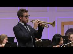 Leroy Anderson: A Trumpeter's Lullaby | Wheaton College Symphonic Band with Brandon Ridenour - YouTube