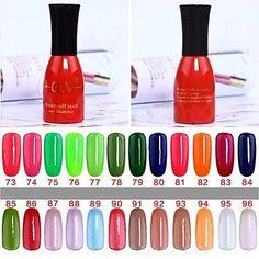 Kaifina 1 Bottle Soak-off Lack UV Colorful Gel Polish No.73-96 (15ml,Assorted Colors) * Visit the image link more details.