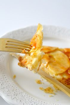RECETA EXPRÉS: TARTA DE MANZANA - My CMS Macaroni And Cheese, Tan Solo, Food And Drink, Tableware, Ethnic Recipes, Kitchen, Baby Shower, Tailgate Desserts, Cinnamon Scones