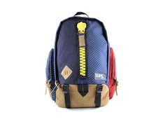 SUPE Design Mountain Bag Navy Dot