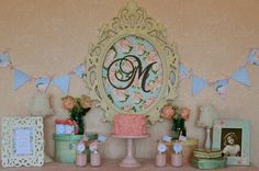 INSTANT Download Shabby Chic English Roses ''Sweet Baby Girl'' Baby Shower Printable Banner. $12.50, via Etsy.