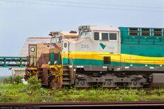 Foto RailPictures.Net: EFC 245 EFC - Estrada de Ferro Carajás GE ES58ACi em São Luís, Maranhão, Brasil por Cristiano Oliveira