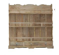 Piattaia in legno grezzo - finitura a scelta - provenienza indiana.