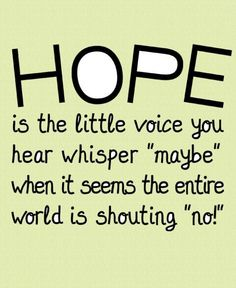 Hope Art Print 8.5 x 11 by thinkaboutrainbows on Etsy, $20.00