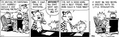 Image result for calvin and hobbes christmas