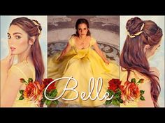 (189) Emma Watson's Belle Makeup & Hair Tutorial Beauty & The Beast - YouTube