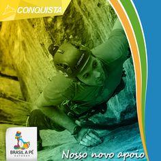 É com muito prazer que anunciamos mais uma parceria entre a Brasil a Pé e conceituada marca de nosso mercado outdoor - a Conquista Montanhismo.  Para nós é motivo de muito orgulho, pois somos a 1ª empresa no segmento de trekking a ser apoiada por eles.  Bem-vindos, rumo a conquista de novos e diversos cumes !!!  #BrasilaPé #Conhecerparapreservar #BrasilaPéeConquista #ConquistaMontanhismo #Climb #RealizeSeuSonho