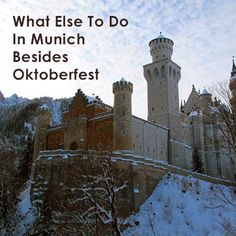 Looking for alternatives to Oktoberfest? Try these other options in Munich, Germany.