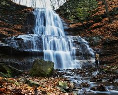 16 Surreal Waterfalls You Can Visit In Ontario - Some of Hamilton's finest make the list!