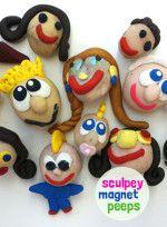 Sculpey Magnet Peeps