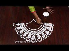 Diwali special deepam rangoli design without dots easy diya kolam simple rangoli Rangoli Ideas, Rangoli Designs, Alpona Design, Latest Rangoli, Creative Video, Simple Rangoli, Diwali, Pencil Drawings, Dots