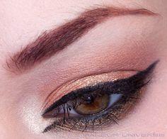 Disconnected eyeliner