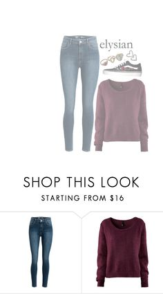 """""""you're killing me"""" by weirdestgirlever ❤ liked on Polyvore featuring H&M"""