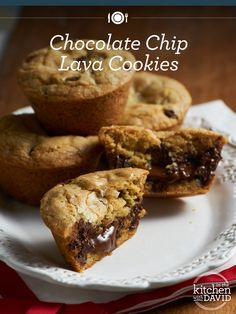 Chocolate Chip Lava Cookies make everything better!