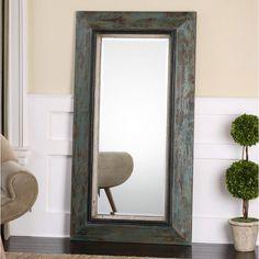 Rectangle Simply Extraordinary Leaner Floor Mirror Classic Bronze ...