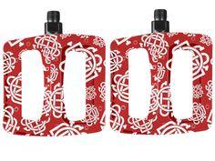 "Odyssey BMX ""Twisted Pro"" Pedals - Monogram Pattern | kunstform BMX Shop & Mailorder - worldwide shipping"