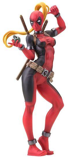 Marvel Bishoujo PVC Statue 1/7 Lady Deadpool 24 cm
