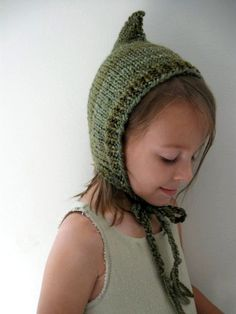 the cutest little woodland elf hat!