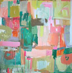 Artistic Inspiration #1: Spotlight on Michelle Armas' bold and beautiful contemporary abstracts