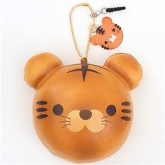 cute tiger bread bun scented squishy by Puni Maru 3