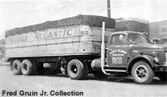 Image result for pictures of trucks from Sanborn's Motor Express