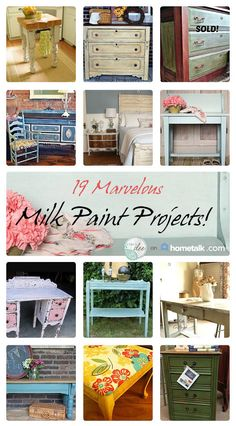 HOMETALK MILK PAINT