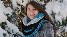 Try this Crochet Cowl This cowl is really interesting and definitely a statement to wear this winter. Mega Bulky Yarn