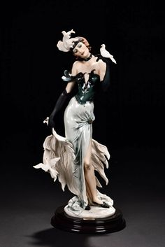 Buy online, view images and see past prices for GIUSEPPE ARMANI MORNING STARS Invaluable is the world's largest marketplace for art, antiques, and collectibles. Morning Star, Bathing Beauties, Royal Doulton, Ball Jointed Dolls, Vintage Beauty, Ceramic Art, Art Gallery, Stars, Elegant