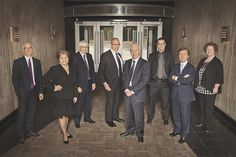 Andrea Norberg Photography | Group Business Portraits - Fun Lawyers