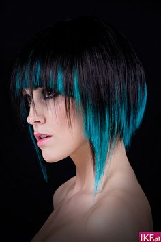 Futuristic hair-style good for Winter