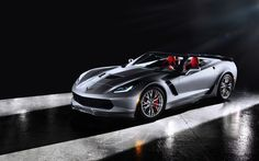 Chevrolet Corvette Z Side HD Wallpaper